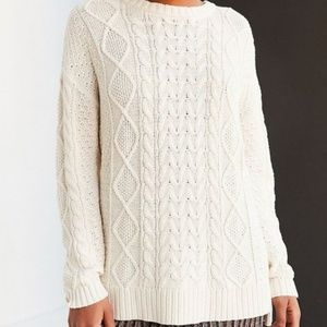 Urban Outfitters BDG Cable Knit Oversized Sweater